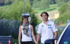 BMW Factory Driver Augusto Farfus Takes His Wife To Work: Video