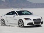 Autonomous Audi TTS Coupe