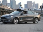 Autonomous Ford Fusion from Uber