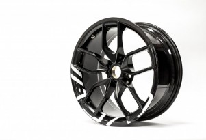 BAC carbon fiber wheel set