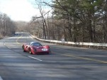 Bailey Cars' Ferrari P4 replica on the road