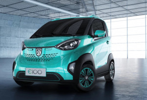 Baojun E100: GM's tiny, two-seat electric car for China