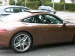 Barely disguised 2012 Porsche 911 in Germany