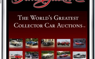 Barrett-Jackson Phones It In With A New Auction App