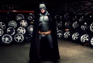 Batman Wheel Advertisement
