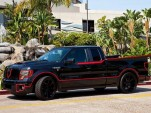 Batmobile-themed Crimefighter Ford F-150 by Galpin Auto Sports