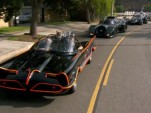 Batmobiles on parade