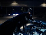 Batpod motorcycle from 'The Dark Knight Rises'
