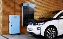 Battery storage system electrified by BMW i