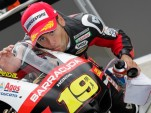 Bautista celebrates pole - MotoGP photo