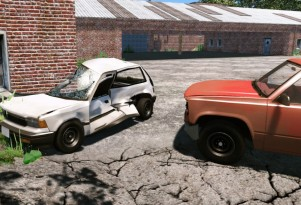 BeamNG's soft physics game engine