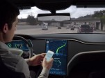 Behind the wheel of an autonomous car