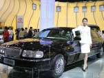 Beijing show luxury sedan