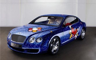 Shiny, Happy Bentley Continental GT: The Revenge of Pop Art