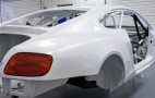 Bentley Continental GT3 Race Car Nears Completion