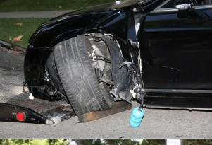 Bentley Continental GTC (wrecked by Sean Stewart)