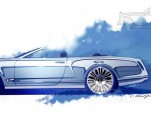 Bentley Mulsanne Convertible Concept preview sketches