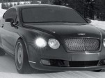 Bentley's Continental GT is the fastest car on ice