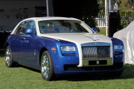 Bespoke 2013 Rolls-Royce Ghost at 2012 Pebble Beach Concours dElegance