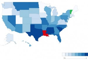 Louisiana Drivers Are The Worst In America (Rest of The South Isn't So Hot, Either)