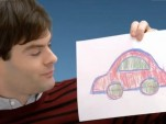 Bill Hader in a VW Academy commercial