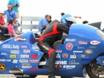 Bill Warner, just before setting the 311.95 mph record. Image: Rebecca Hirst