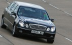 Binz E-class limo at Millbrook Proving Grounds