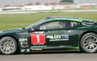 Bio-fuelled Aston Martin DBRS9 wins British GT