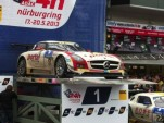 Black Falcon Mercedes-Benz SLS AMG GT3 after winning the 2013 Nürburgring 24 Hours