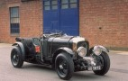 Blower Bentley Burbles Up To Mille Miglia Starting Line