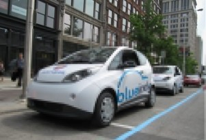 BlueIndy Electric Car-Sharing Parking Spaces Fought By Indianapolis Businesses