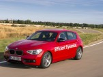 BMW 1-Series Hatchback prototype with direct water injection