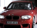 BMW 1-Series M Coupe sneak peek