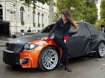 BMW 1-Series M Coupe teaser images