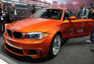 2011 BMW 1-Series M Coupe live photos by Joe Nuxoll