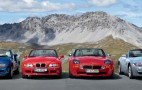 BMW celebrates 75 years of roadster production