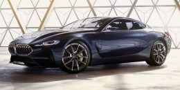 BMW 8-Series concept leaked ahead of 2017 Concorso d'Eleganza Villa d'Este debut