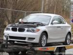 BMW ActiveE 1-Series Coupe spy shots