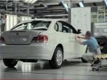BMW ActiveE electric car production line, Leipzig, Germany