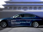 BMW and Brilliance 5-Series plug-in hybrid concept