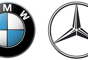 BMW and Mercedes Benz logo