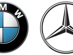 BMW and Mercedes logos