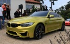BMW Concept M4 Live Photos And Video