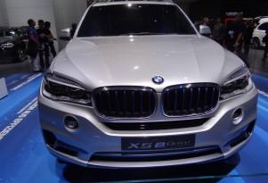 BMW Concept X5 eDrive Live Photos: 2013 Frankfurt Auto Show