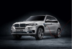 BMW Concept5 X5 eDrive: Plug-In Hybrid SUV Destined For Frankfurt