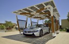 BMW Solar Charging Carport Concept Is Stunning Functional Art