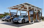 BMW Designs Custom Solar Charging Station For i3, i8