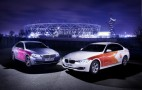 First Wave Of BMW Olympic Support Vehicles Arrive In London