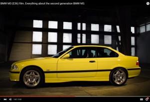 BMW E36 video screen shot