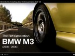 BMW E46 M3 video screen shot